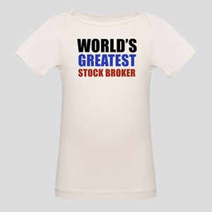 stock broker designs Organic Baby T-Shirt